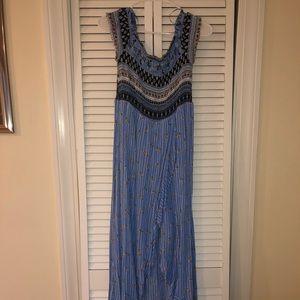candie's maxi romper dress